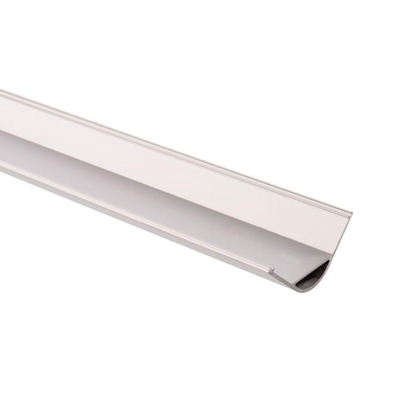 Aluminiumprofil für Ecken Rund 1m für LED-Streifen bis 18mm