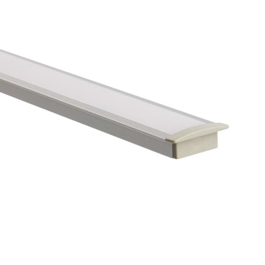 aluminiumprofil 1m f r led strips 046 a56 ledkia deutschland. Black Bedroom Furniture Sets. Home Design Ideas