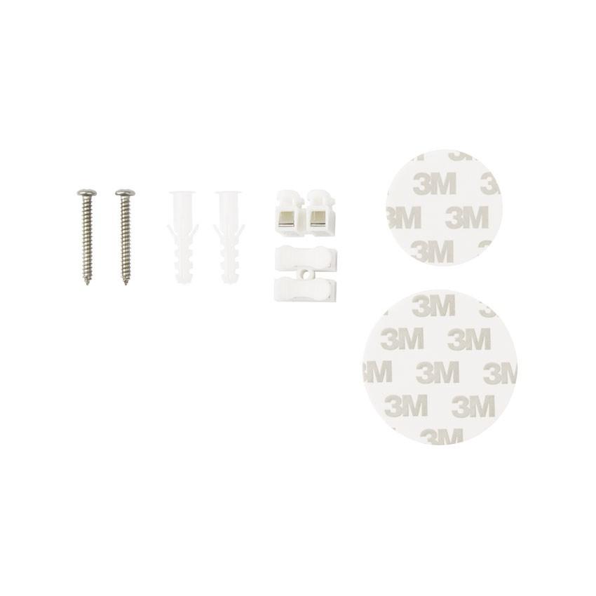 Wireless-Lichtschalter 2-fach Silber - Ledkia Deutschland