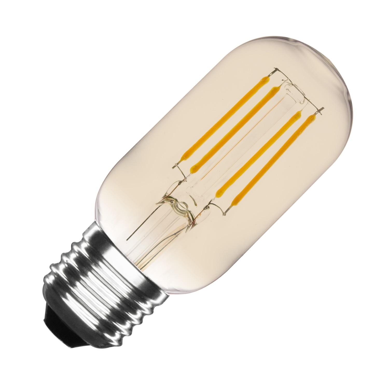 led lampe e27 t45 3 5w filament gold tory dimmbar ledkia deutschland. Black Bedroom Furniture Sets. Home Design Ideas