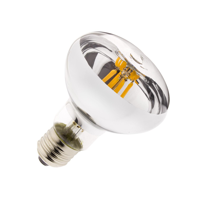 led lampe e27 r80 6w filament dimmbar ledkia. Black Bedroom Furniture Sets. Home Design Ideas
