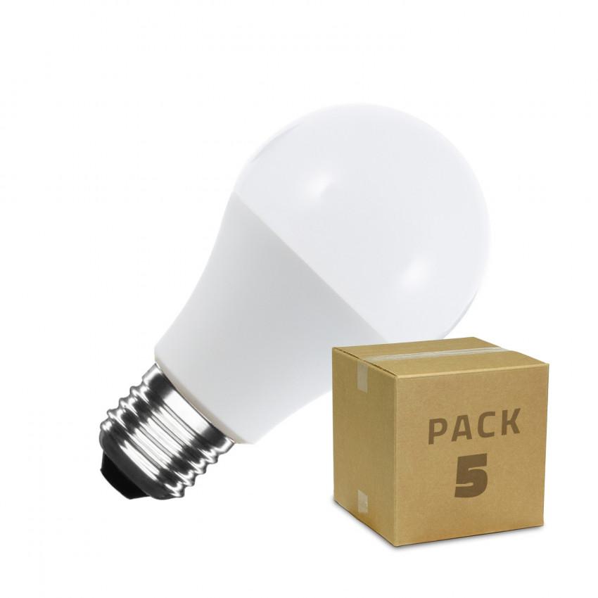 5er-Pack LED-Glühbirne E27 A60 9W