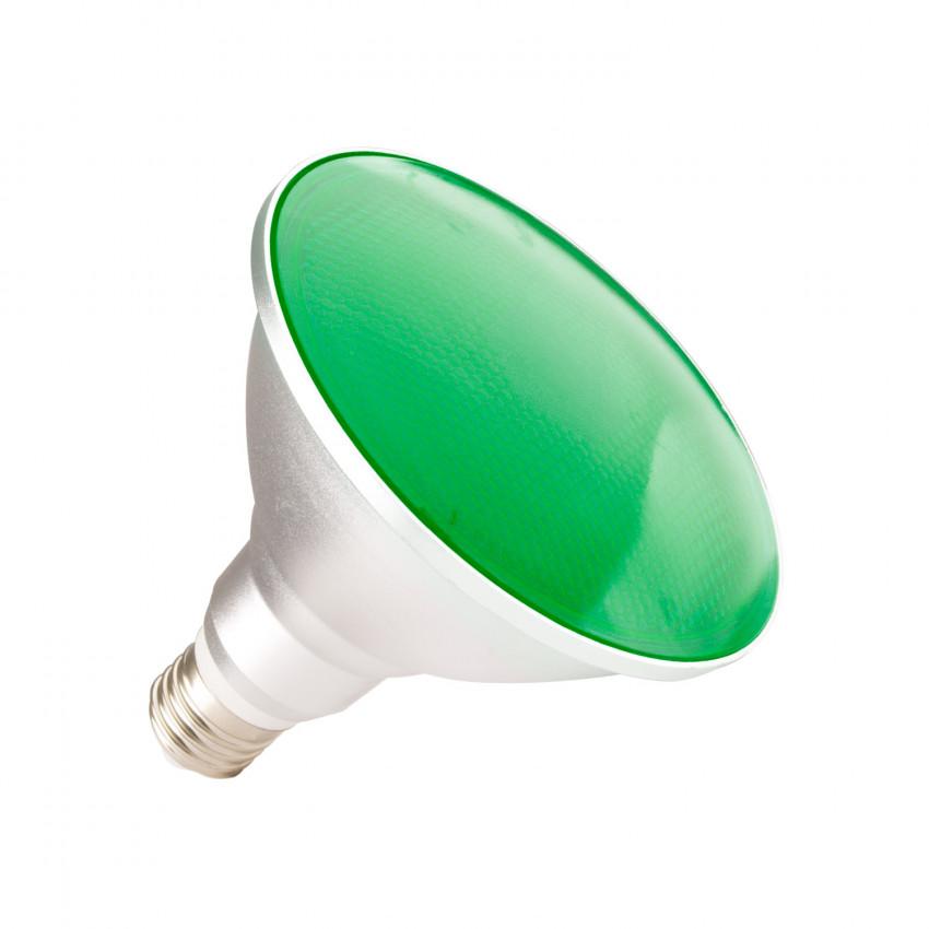 Ampoule LED E27 PAR38 15W Waterproof IP65 Lumière Verte