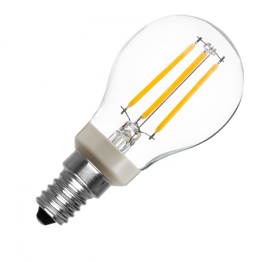 Ampoule LED E14 P45 Dimmable PHILIPS Dimmable Filament Luster CLA 4.5W