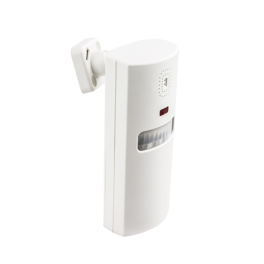 Alarme avec d tecteur infrarouge 2 t l commandes ledkia for Alarme piscine infrarouge
