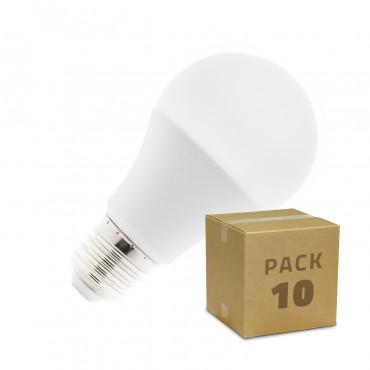 Pack Bombilla LED E27 A60 5W (10x4.24€)