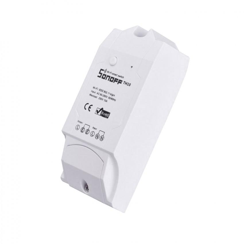 Interrupteur WiFi pour Capteur de Température et d'Humidité SONOFF TH10 V1