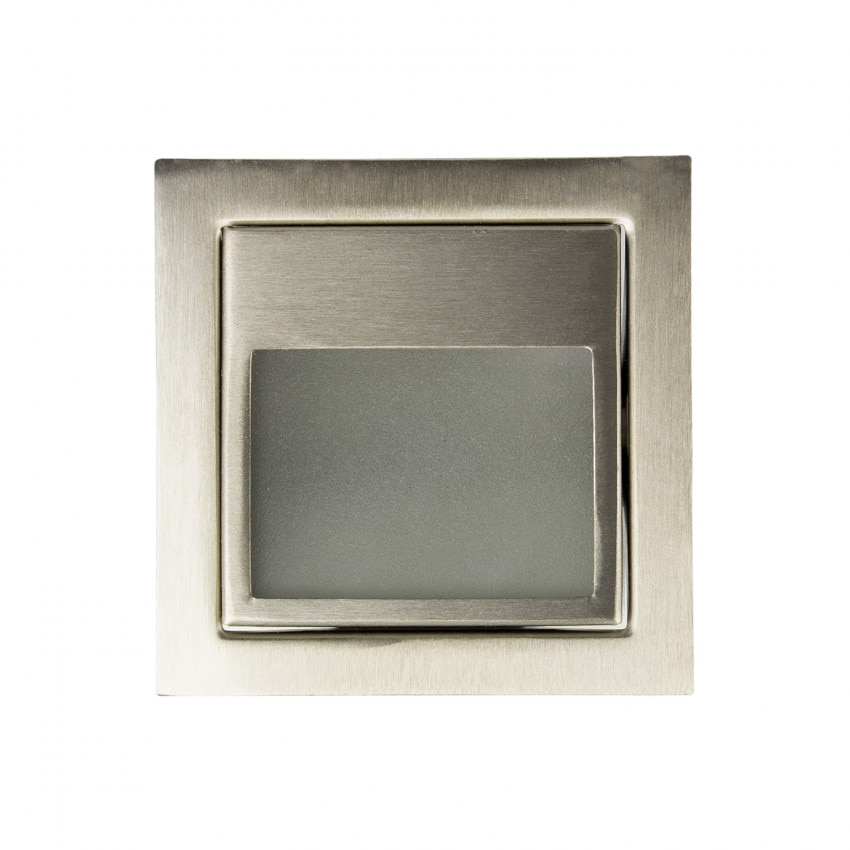Balise LED Larry Finition Acier 1.5W