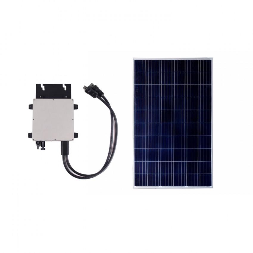 Pack Panneau Solaire Photovoltaïque Polycristallin 320W BYD Class A + Micro-Onduleur 300W