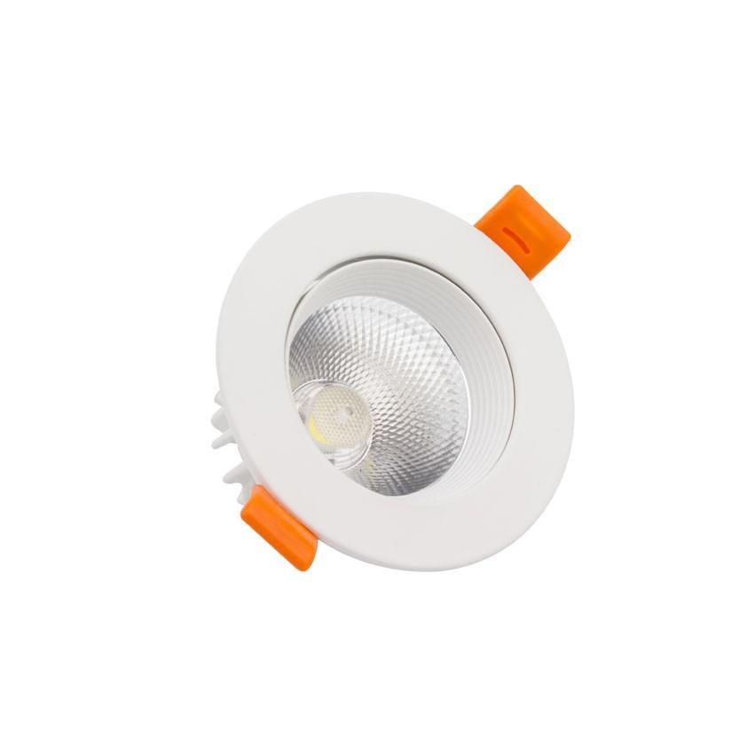 Foco LED Downlight Circular COB 7W Blanco
