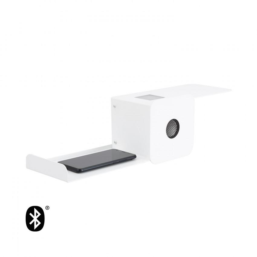 Aplique LED Damon 10W avec Haut-Parleur Bluetooth et Chargeur USB