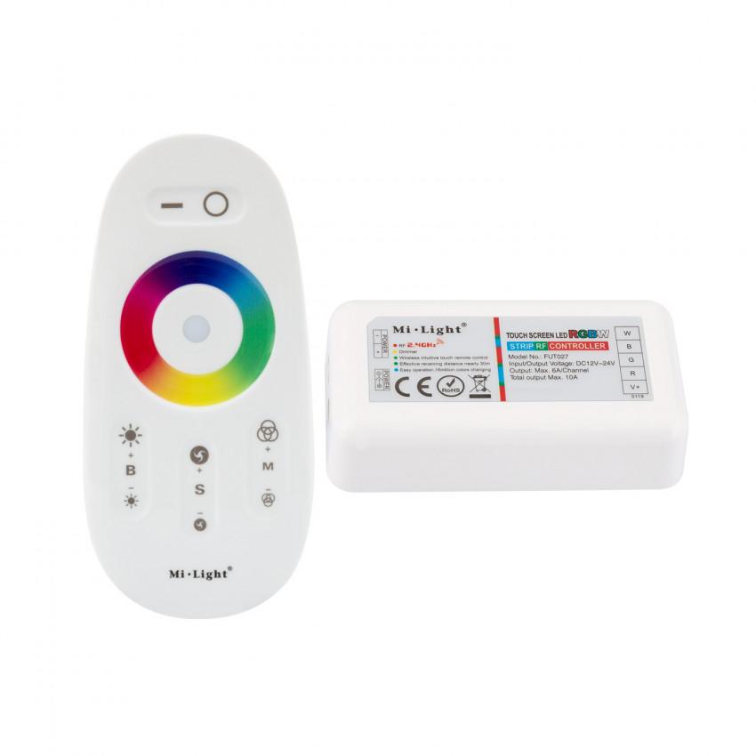 Contrôleur Tactile LED RGBW Dimmable avec Télécommande RF