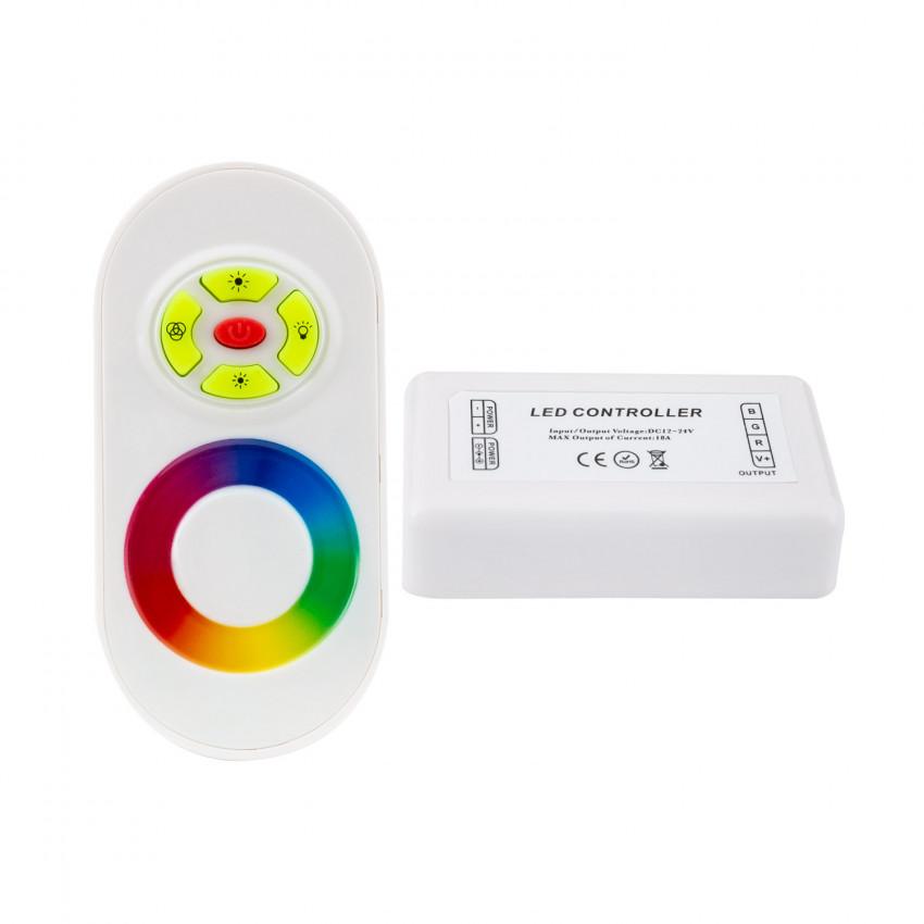 Contrôleur Tactile LED RGB 12/24V, Dimmable avec Télécommande RF