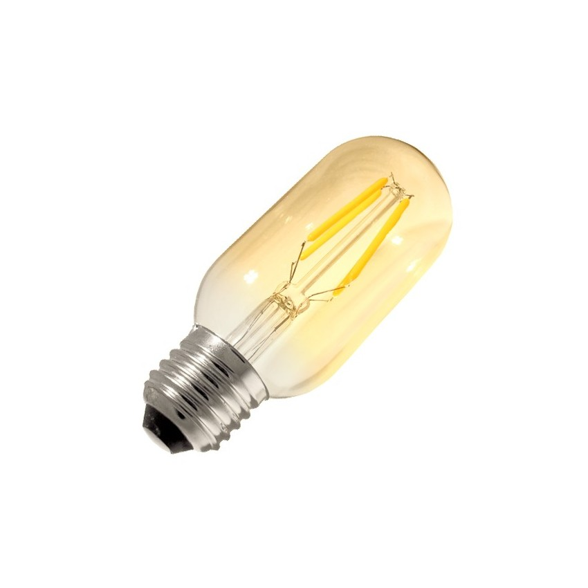 Ampoule led e27 dimmable filament tory gold t45 3 5w ledkia france - Ampoule led dimmable ...