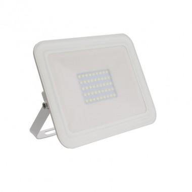 Projecteur LED Extra-Plat Crystal 30W Blanc