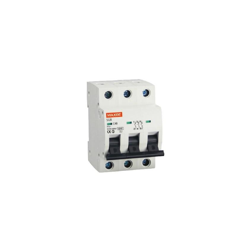 Disjoncteur Automatique Industriel MAXGE 3P-32A-6kA