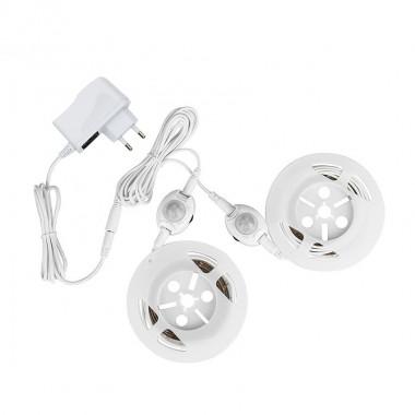 Kit 2 Rubans LED avec capteur PIR pour lit adulte