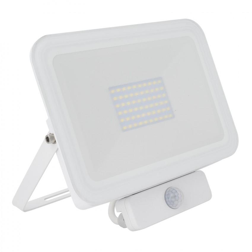 Projecteur LED Slim Crystal avec Détecteur de Présence PIR 50W