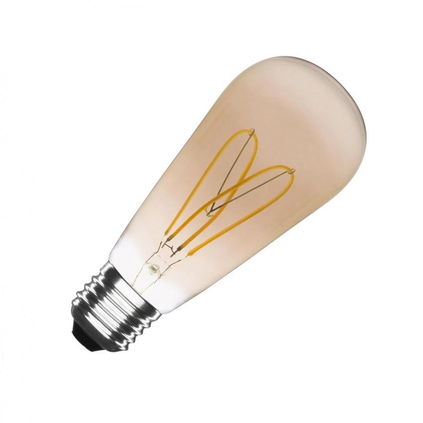 Ampoule LED E27 Dimmable Filament Big Lemon ST64 4W