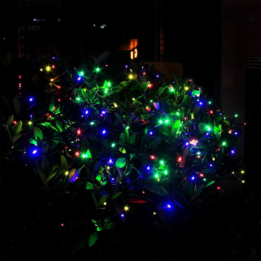 Guirlande LED avec Chargeur Solaire 12m