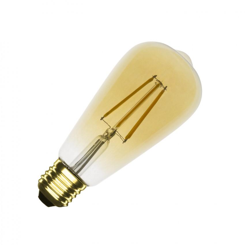 Ampoule LED E27 Dimmable Filament Gold Big Lemon ST64 5.5W