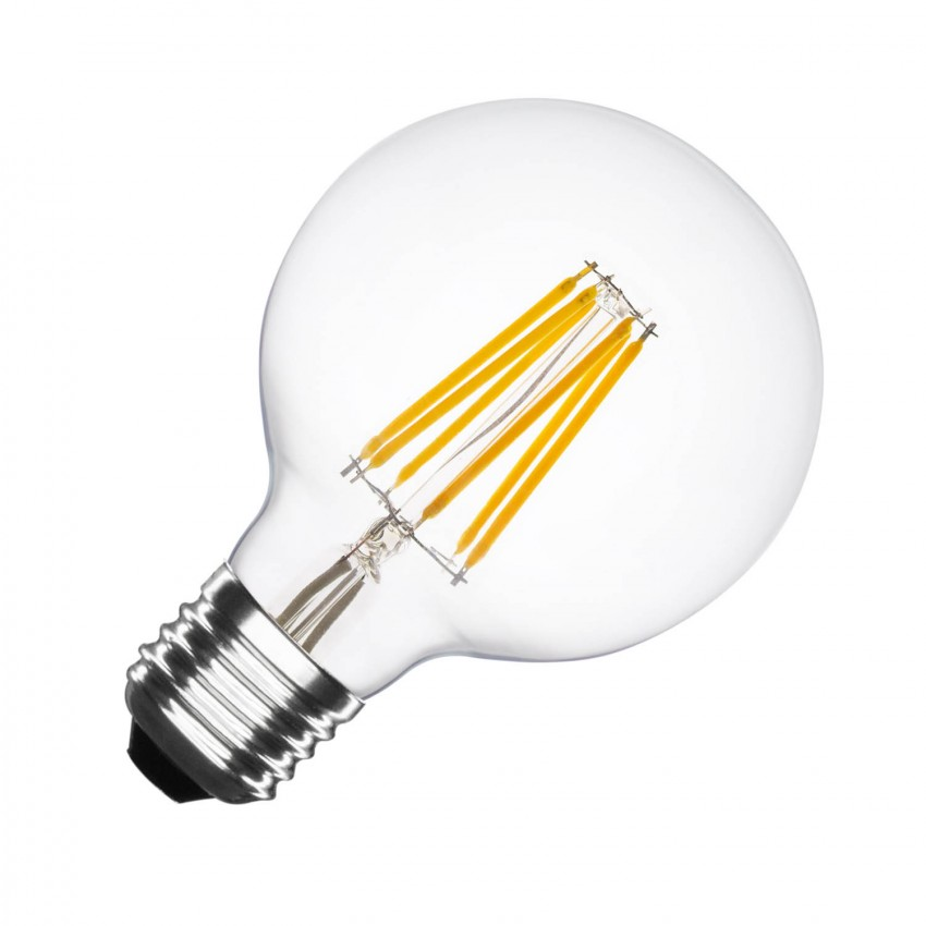 Ampoule LED E27 Dimmable Filament Planet G95 6W