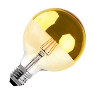 Ampoule LED E27 Dimmable Filament Reflect Suprême Gold G125 6W