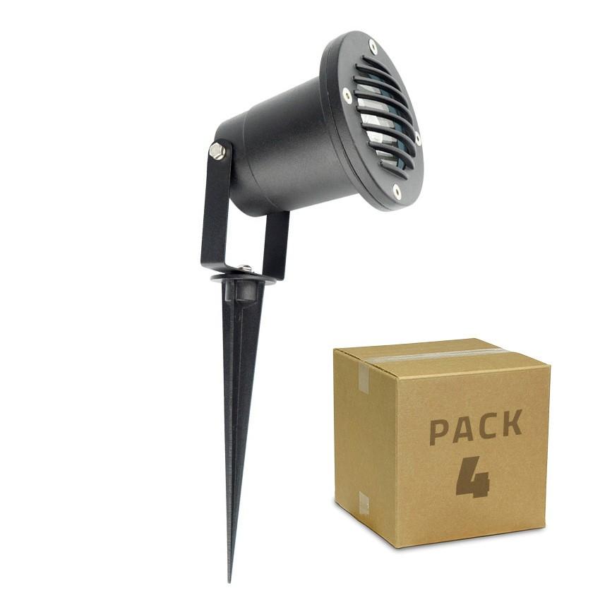 PACK Spot LED sur Piquet Gotham 3W (4 Un)