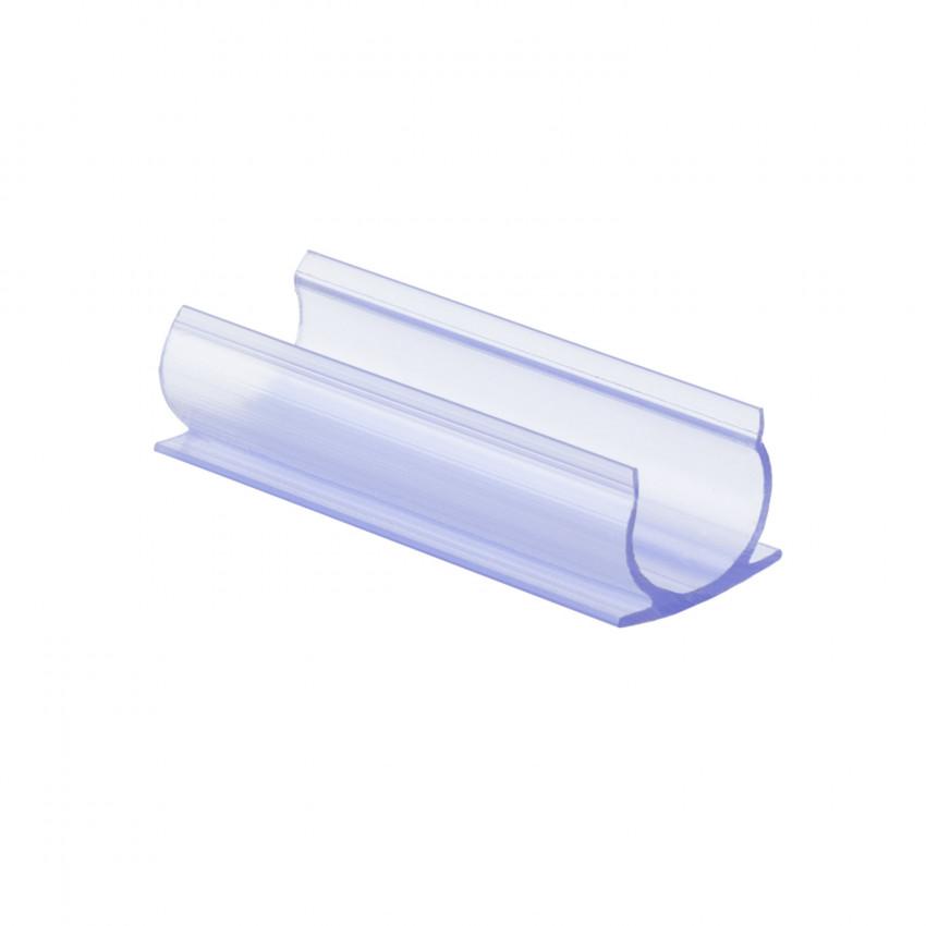 Clip de Fixation PVC pour Néon LED Rond 360 Flexible Monochrome