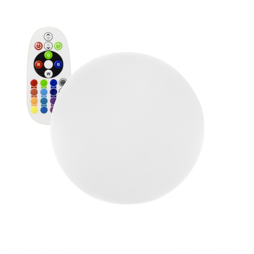 Sphère LED RGBW 30cm Rechargeable