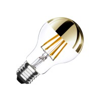 Ampoule LED E27 Dimmable Filament Gold Reflect A60 6W