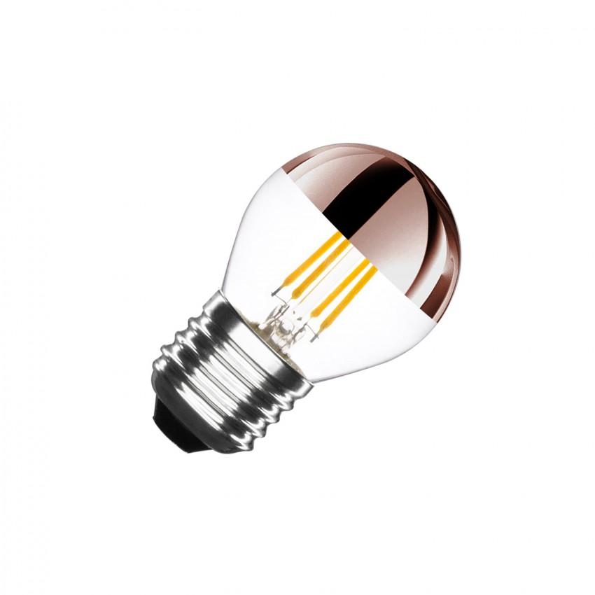 Ampoule LED E27 Dimmable Filament Copper Reflect Small Classic G45 4W