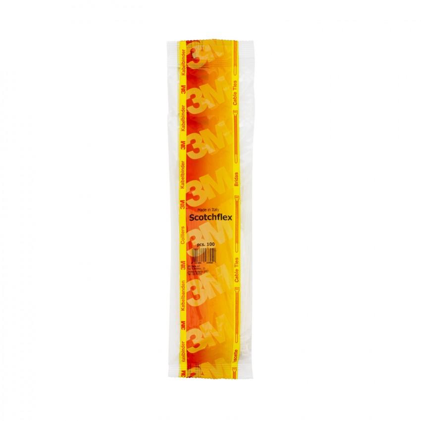 Pack Colliers de Serrage Scotchflex™ 3M™ FS 280 B-C 3,5mm x 280mm (100 un)
