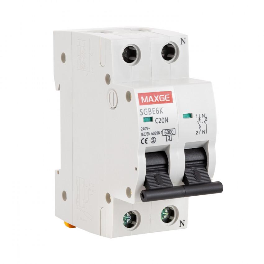 Disjoncteur Automatique Résidentiel MAXGE 1P+N-6kA 6-40A