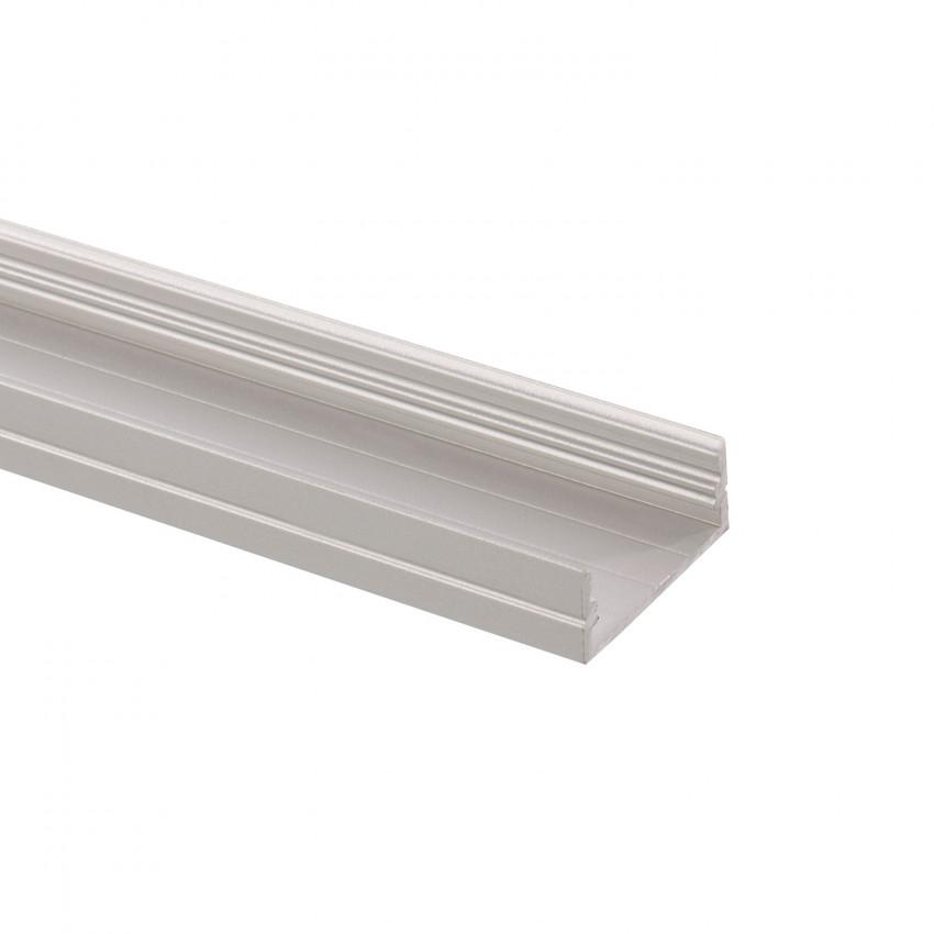 Profilé Aluminium en Saillie 1m pour Double Ruban LED