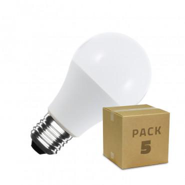 Pack Bombilla LED E27 A60 5W (5x4.36€)