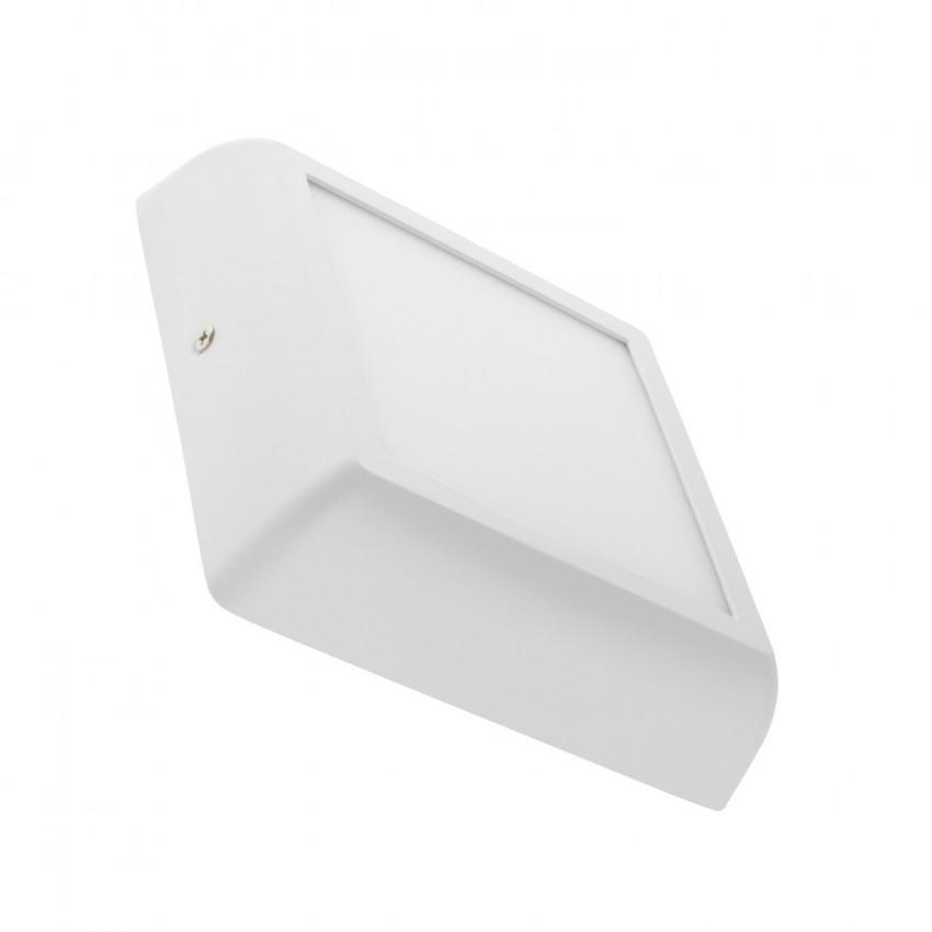 Plafonnier LED Carré Design 12W White