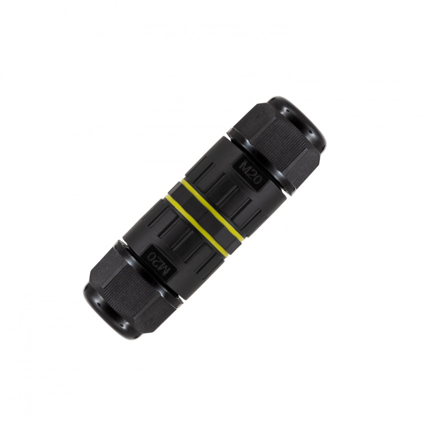 Connecteur Câble Étanche 3 Contacts 0.5mm²- 4mm² IP68