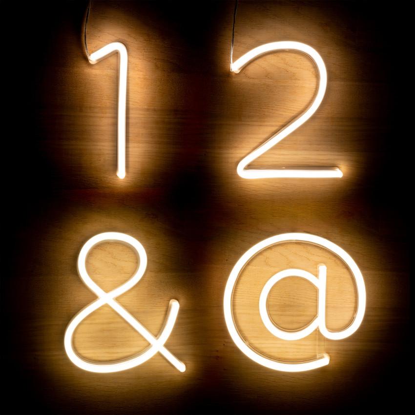 Numéros et Symboles Néons LED