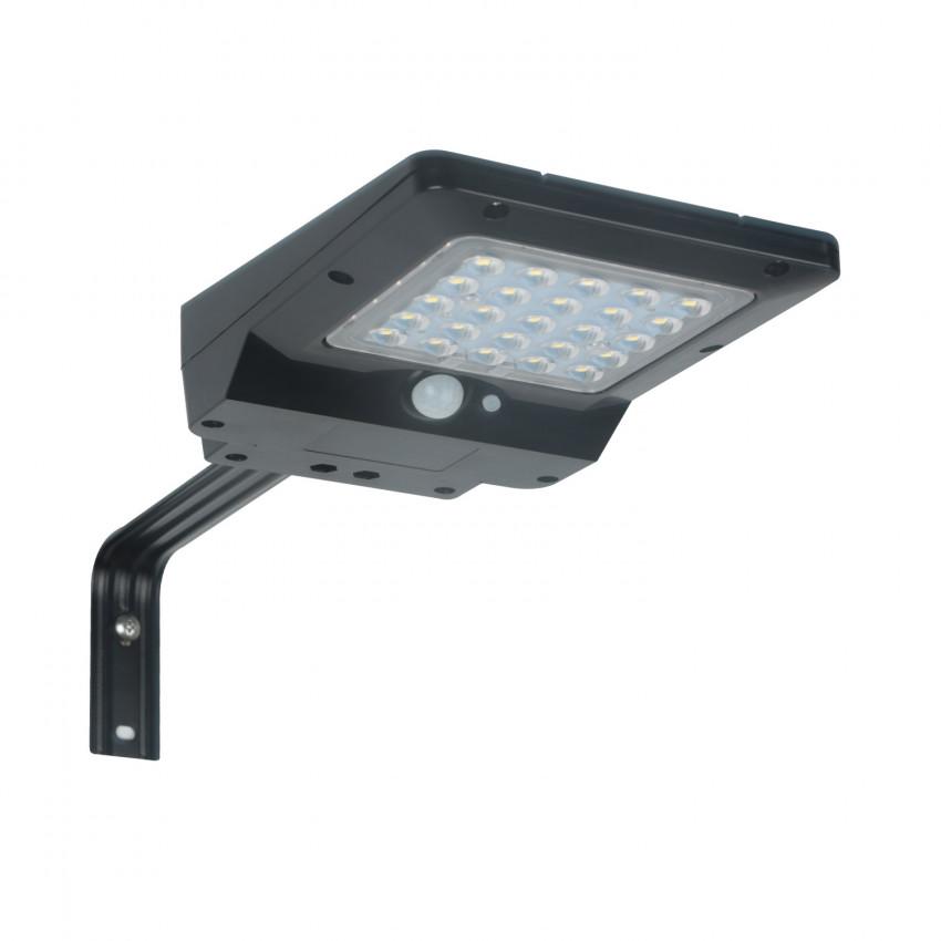 Luminaire LED Solaire 4W avec Détecteur de Présence et Crépusculaire