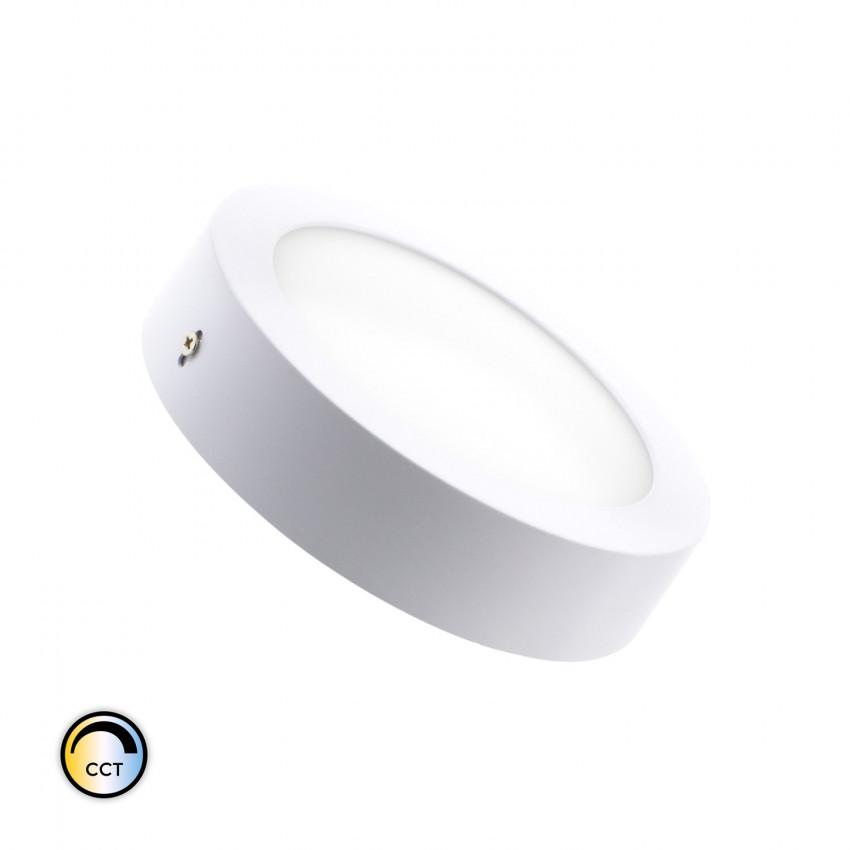 Plafonnier LED Rond CCT Sélectionnable 12W Dimmable