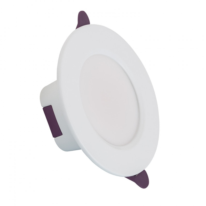 Downlight LED Rond Waterproof IP65 8W Coupe Ø 75 mm