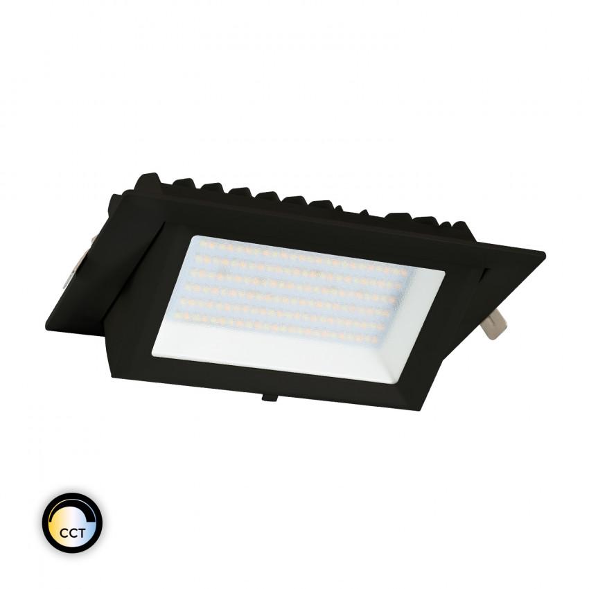 Projecteur LED SAMSUNG 130lm/W Orientable Rectangulaire 20W Noir CCT LIFUD