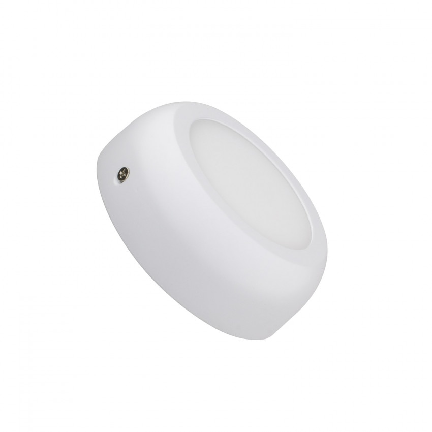 Plafonnier LED Rond Design 6W White