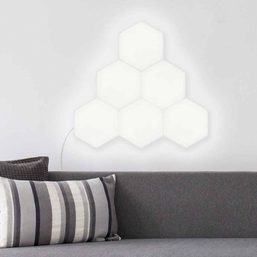 Panneau LED Hexagonal 9x9cm 3W Extension