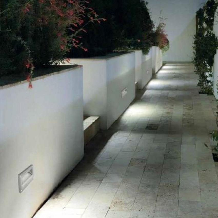 Balise Murale LED Encastrable Micenas 5.5W IP66 LEDS-C4 05-9832-34-CL