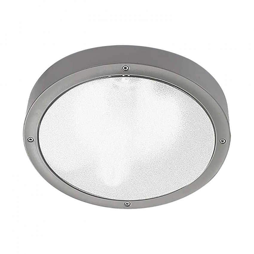 Plafonnier LED Basic Aluminium IP65 LEDS-C4 15-9835-34-M1