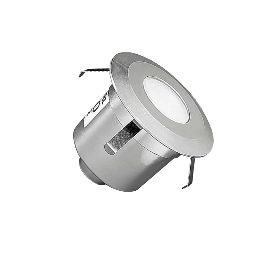 Spot LED Rond Encastrable au Sol Gea Signaling 1W IP67 LEDS-C4 55-9769-54-T2