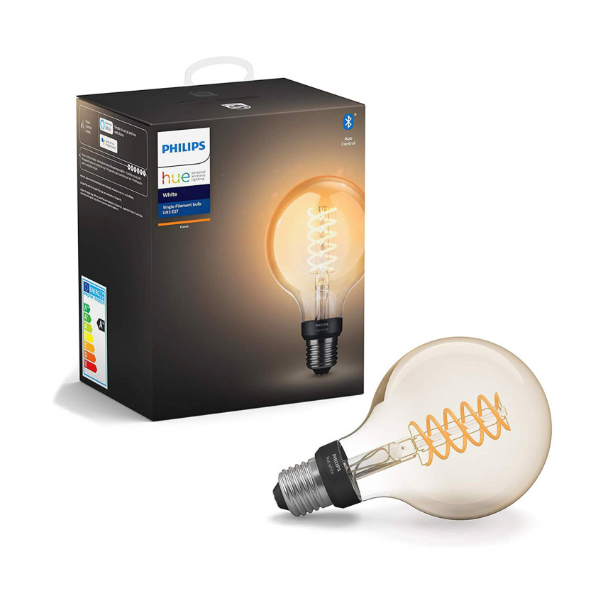 Ampoule E27 Filament White G93 7W PHILIPS Hue