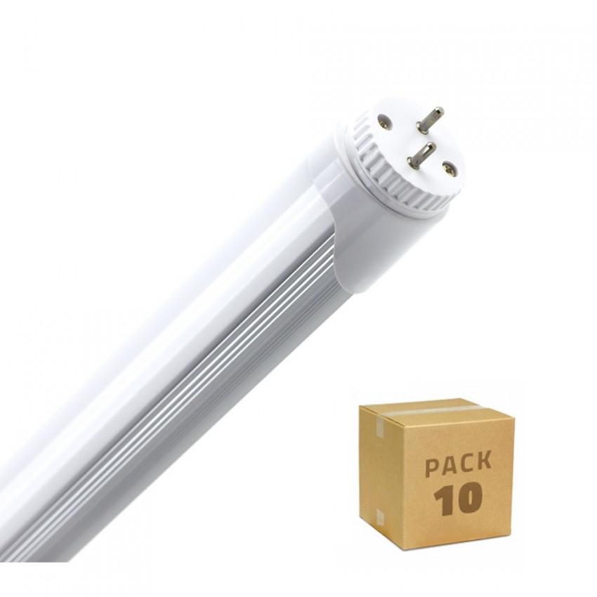 Boîte de 10 Tubes LED T8 600mm Connexion Latérale 9W 120lm/W Blanc Chaud